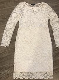 White Lace Dress(Charlotte Russe) Los Angeles, 91324