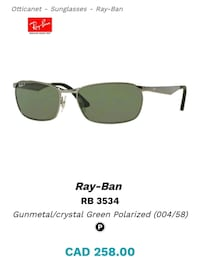 Am selling this ray ban like brand new  Toronto, M3J