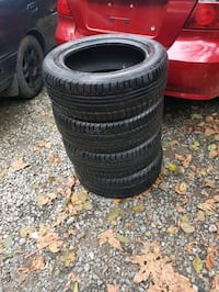 Like New All Season Tires - Nokina I3 M+S 85%
