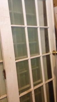 white wooden framed glass panel door Ancaster, L9G 4N9