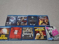 assorted Blu-ray disc cases Brampton, L6Y 0G8