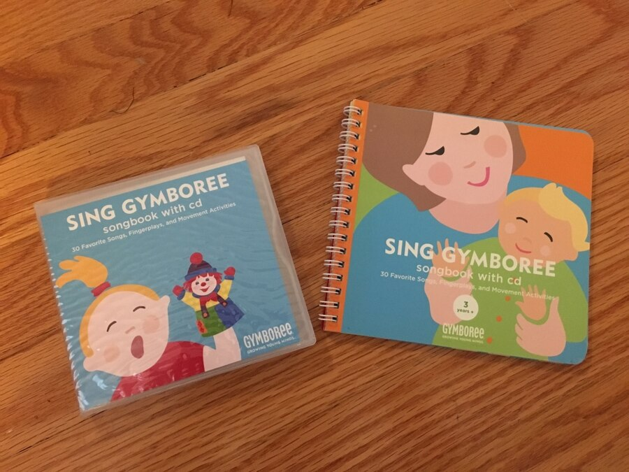 Used sing gymboree songbook with cd in