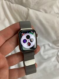 Apple Watch Series 4 Cellular 44 mm - rustfritt stål , 0445