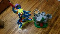 Fisher Price spinnyos Track and castle Louisville, 40215