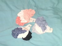 3 SETS OF BRAND NEW SCRUNCHIES (9 TOTAL) Voorhees Township, NJ 08043, USA