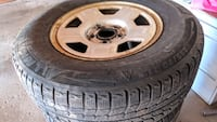 winter snow tires with rims for sale North York, M3J 3N2