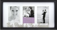 Eat Drink & Be Married Frame  MARKHAM