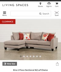 gray and white sectional couch screenshot Santa Clara, 95054