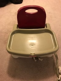 Baby's red and white high chair Odenton, 21113