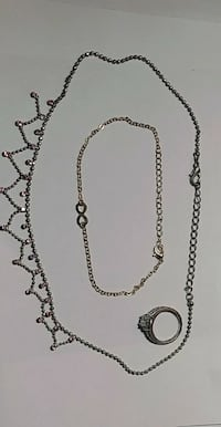 Necklaces and a ring