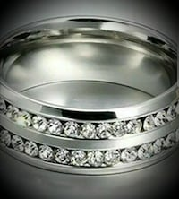 Beautiful stainless steel ring  La Vista, 68128