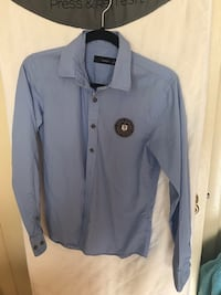 gray button-up long-sleeved shirt Henrico, 23238