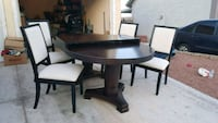Dining table 4 chairs Las Vegas, 89110