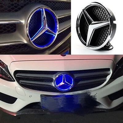 Mercedes benz led front emblem