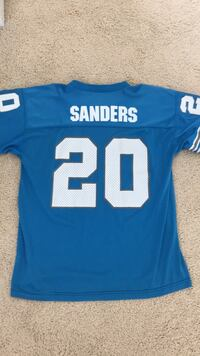 Barry Sanders Lions jersey (L/XL) Raleigh, 27613