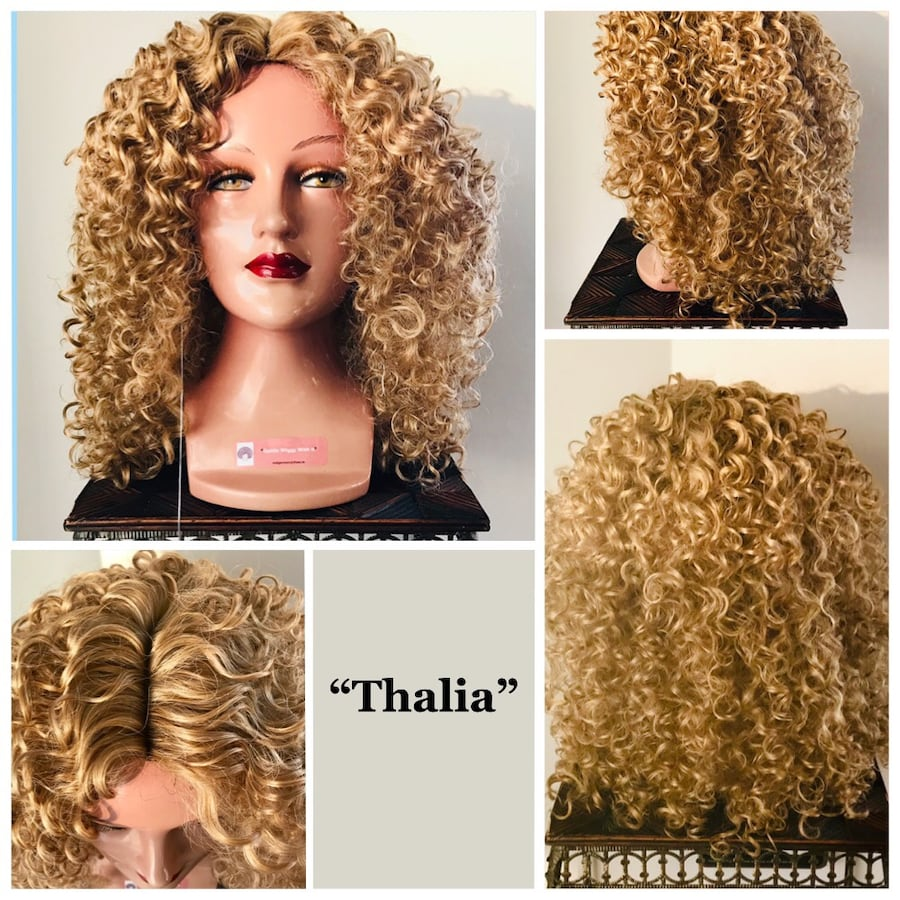 Blonde Curly Wig for Everyday or Cosplay