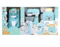 New Kids Playgo Gourmet Kitchen Appliances