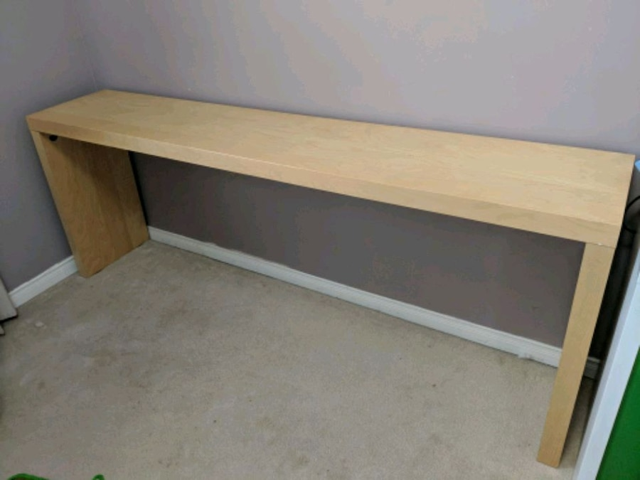 used ikea malm over bed table for sale in whitchurch stouffville letgo rh gb letgo com