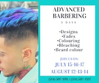 Advanced barber courses Montréal