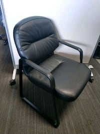Real Leather Looby / Guest Chair San Jose, 95112