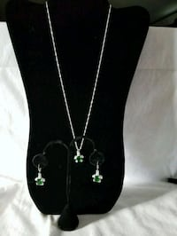 Brand New Stamped 925 Turtle Necklace and earrings Mosheim, 37818