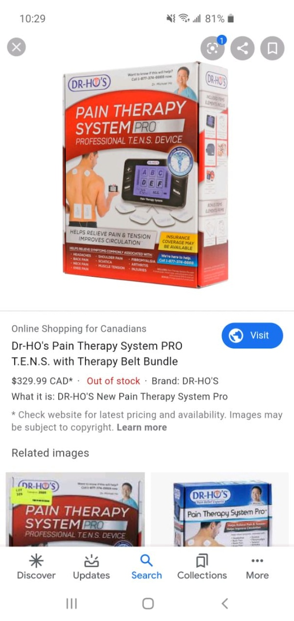 Dr ho pain therapy system pro 7