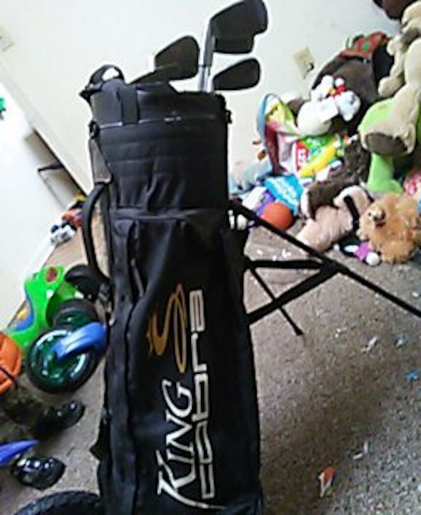 King Cobra Golf Bag With All Size Clubs