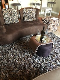 Sofa, rug with matching pillows, accent chairs Chandler, 85225