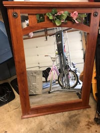 Mirror with nice wooden Frame