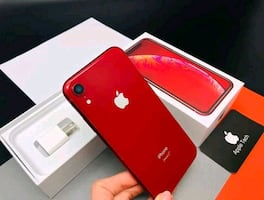 brand new red iPhone xr 256gb