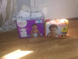 Baby diapers. Size 3