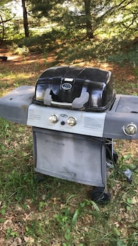 gray and black gas grill 28 km