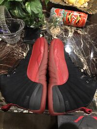 pair of black-and-red leather cowboy boots 44 km