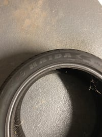 All weather car tire