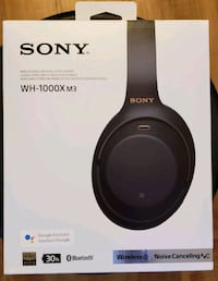 SONY WH1000X M3 Firm price  Silver Spring, 20902