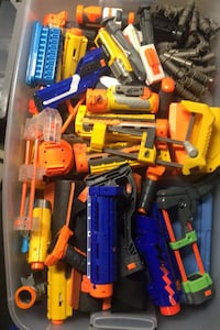 LOTS or nerf attachments ammo and mags  Chevy Chase, 20815