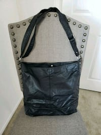 Black shoulder bag Lancaster, 93536