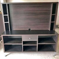 Brown tv stand. Edmonton, T6N 1K5