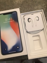 IPHONE X FOR SALE!!! 64GB EXCELLENT CONDITION!!! SILVER Mississauga, L5M 7Y4