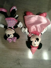 2 x Disney minnie mouse Kitchener, N2K 4J7