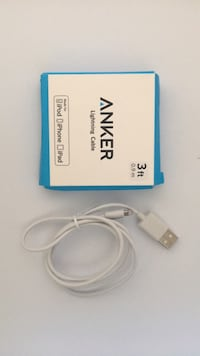 white and blue USB cable Ann Arbor, 48104