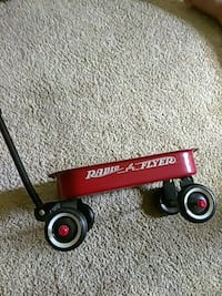 Radio Flyer wagon about 12 inches in length