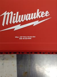 Milwaukee 3/8 socket set  Denver, 80205