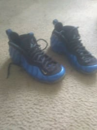 Royal blue foamposite Detroit, 48208