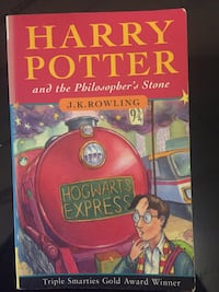Harry Potter and the Philosopher's Stone Ottawa, K4A