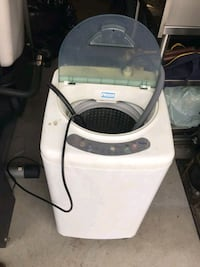 Portable Haier washing machine