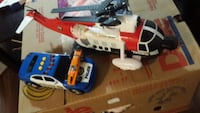 red and white RC helicopter Ottawa, K1G 5T1