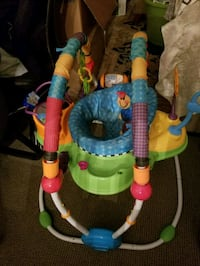baby's green and blue jumperoo Bowie, 20716
