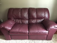 Leather loveseat and chair St Albert, T8N 0L4