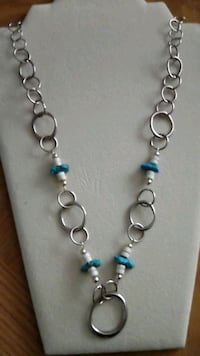 Chain Torquoise necklace